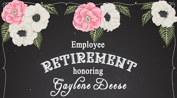Retirement mini banner